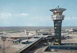 CPM   : Aviation  Commerciale  Aérodrome Paris Orly Sud Satellite  Ouest  Appareils TWA     Ed PI - Aérodromes