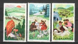China P.R. 1978 Mi 1422-1424 MNH - Nuevos