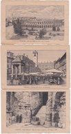 VERONA. 3 Cartoline. Imp. Ligny. Paris - Verona