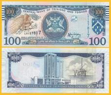 Trinidad & Tobago 100 Dollars P-51b 2006 Sign. Rambarran UNC Banknote - Trindad & Tobago