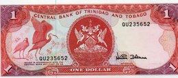 TRINIDAD & TOBAGO 1 DOLLAR 1985  P-36d   UNC - Trinidad & Tobago