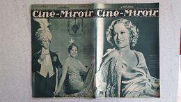 CINE MIROIR 12/1933 N°456   MYRIAM HOPKINS -  LE FAKIR DU GRAND HOTEL - LES BLEUS DU CIEL - Cinéma/Télévision