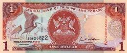 TRINIDAD & TOBAGO 1 DOLLAR 2002  P-41   UNC - Trinidad & Tobago
