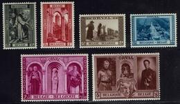 Belgien Belgie Belgium 1939 - OBP 513-518** Orval - Neufs