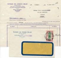 Congo-Belge - Lettre Avec Contenu - Payement Pension - Lu-sambo 12-6-48 Vers Lubefu - Belgisch-Kongo