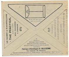 Enveloppe CCP 1926 – Pub Sachets Pour échantillons, Fabrique D'enveloppes - Advertising