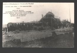 Mons-lez-Liège - Sables Et Produits De L'Arbre-St-Michel - Photo Publicitaire, Dos Blanc - Flémalle