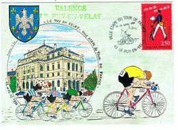 1996 / Tour De France Au Puy-en-Velay / Blason - Wielrennen
