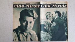 CINE MIROIR 12/1933 N°454 BERVAL ET DELIA-COL  -  JEAN GABIN DANS DU HAUT EN BAS  - LES SURPRISES DE SLEEPING - Cinéma/Télévision