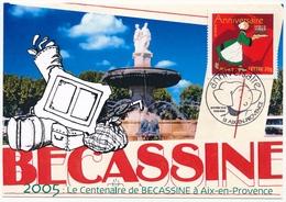 FRANCE - CPM - 2005 Centenaire De Bécassine à Aix En Provence - Premier Jour 2/04/2005 - France