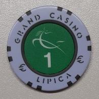 TOKEN SLOVENIA CASINO LIPICA 1 EUR - Casino