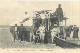 33 ARCACHON  Le Parc à Huitres  Ponton Du Grand Banc    2scans - Arcachon