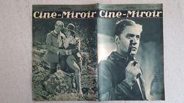 CINE MIROIR 12/1933 N°452 CHARLES BOYER -  M. WEINTENBERGER - MAURICE CHEVALIER DANS  MR BEBE - Cinéma/Télévision
