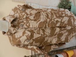 Veste Militaire Camouflée Désert - Air Soft - Paintball - Chasse - Equipement