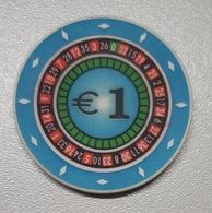 TOKEN SLOVENIA CASINO PARK HIT NOVA GORICA 1 EUR - Casino