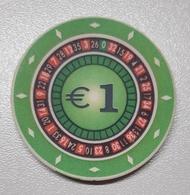 TOKEN SLOVENIA CASINO HIT KRANJSKA GORA 1 EUR - Casino