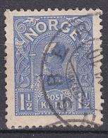 Wlk_ Norwegen - Mi.Nr. 68 -  Gestempelt Used - Norvège