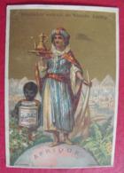 Image Chromo Extrait De Viande Liebig. S 150. Globe, Afrique. 1883. édition Française - Liebig