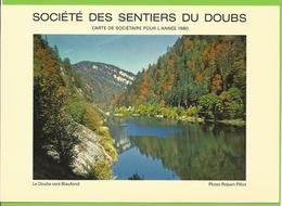 Société Des Sentiers Du Doubs - 1980 - Le Doubs Vers Biaufond - Photographie