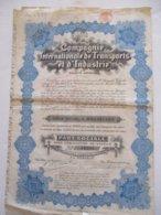 Compagnie Internationale De Transports Et D'Industrie - Transports