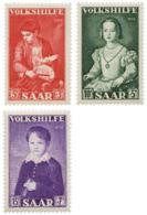 Ref. 262145 * HINGED *  - GERMANY. Sarre . 1954. FOR THE BENEFIT OF POPULAR WORKS. A BENEFICIO DE LAS OBRAS POPULARES - Sarre