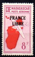 Col17  Colonie Madagascar  PA  N° 47 France Libre Neuf XX MNH Cote : 15,00€ - Poste Aérienne