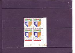 N° 1354A - 0,18 REUNION - B De A+B - 2° Tirage Du  Du 3.6 Au 12.6.64 - 5.6.1964 - - 1960-1969