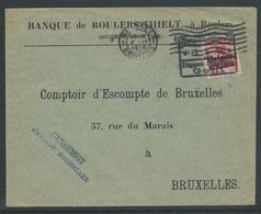Brief Verstuurd Uit Roeselare Naar Brussel 8.4.16 - Guerre 14-18