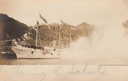RP: SAMOA , 00-10s ; Ship Firing Broadside Salute - American Samoa