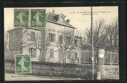 CPA St-Germain-du-Puch, L`Hotel De Ville - Non Classés