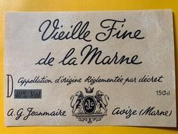 12604 -  Vieille Fine De La Marne A.G.Jeanmaire Avize - Andere