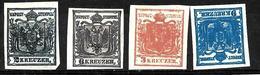 158 - AUSTRIA - AUTRICHE - 1850 - FORGERIES, FALSES, FAKES, FAUX, FALSOS, FALSCHEN - Timbres