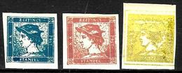 156 - AUSTRIA - AUTRICHE - 1850 - FORGERIES, FALSES, FAKES, FAUX, FALSOS, FALSCHEN - Timbres