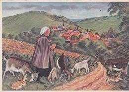 Cpsm 10x15. HOMUALK . En Parcourant Le BERRY N° 9. Chavignol Près Sancerre,  Renommé Pour Ses Vins & Fromages De Chèvre - Homualk