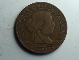 Espagne 5 Centimos 1868 OM - Monnaies Provinciales