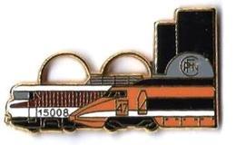 TGV SUD EST - SE10 - LOCO BB 15008 - CFPN NANCY - Verso :BALLARD - TGV