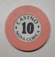 TOKEN JETON SLOVENIA  CASINO Nova Gorica 10 - Casino