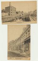 DOUAI - Lot 3 Cartes Rue Du Gouvernement/usine Arbel/pont Détruit Sur Le Canal - Douai