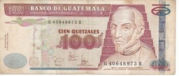 BILLETE DE GUATEMALA DE 100 QUETZALES DEL 9 ABRIL 2001 (BANK NOTE) - Guatemala