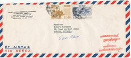 Peru Air Mail Cover Sent To Switzerland - Peru