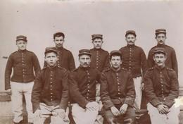Photo 1905 LA FLECHE - Le Prytanée Militaire, En Manoeuvre, Un Groupe De Soldats (A219) - La Fleche