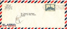 Peru Air Mail Cover Sent To Switzerland 6-12-1966 Single Franked - Peru