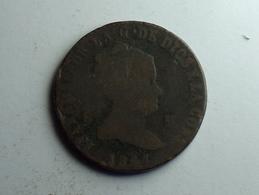 Espagne 8 Maravedis 1847 - Monnaies Provinciales