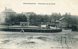 Heide Kalmthout  Panorama Aan De Statie - Kalmthout