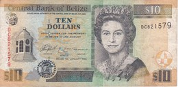 BILLETE DE BELIZE DE 10 DOLLARS  DEL AÑO 2005   (BANKNOTE) - Belize
