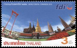 Thailand 2015. World Dental Congress - Bangkok, Thailand (MNH OG) Stamp - Thailand