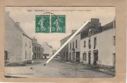 Dept 44 : ( Loire Atlantique ) Fégréac, Place De L'Eglise, Route De Sévera. - France
