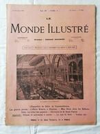 LE MONDE ILLUSTRE - ANNEE 1901 / Salon Automobile Et Cycles / Machine à écrire Pour Aveugles / Les Balkans - Boeken, Tijdschriften, Stripverhalen