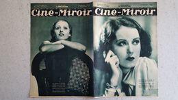 CINE MIROIR 09/1933 N°441 FAY WRAY DANS KING KONG - ROSINE DEREAN DANS LAC AUX DAMES - Cinéma/Télévision