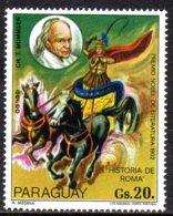 1977 Paraguay,Nobel Prize Mommsen Cirque  Rome Antique Cheval - Paraguay